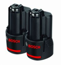 Batterie - chargeur - lampe électro-portatif : Pack de 2 batteries Bosch 10,8 V