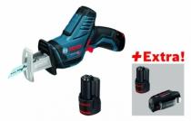 Scie sabre sans fil : GSA 12V-14 + 3 batteries et chargeur usb