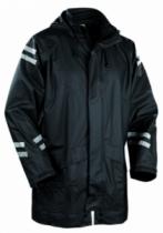 Vêtement de travail : Veste de pluie polyuréthane tissée
