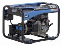 Groupe électrogène : Diesel 4000E XL + kit brouette RKB1 HD