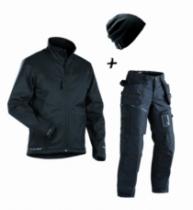 Vêtement de travail : Pack 1 veste + 1 pantalon + 1 bonnet