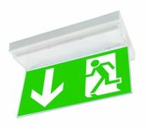 Bloc sécurite évacuation : Panneau de signalisation pour bloc sécurite évacuation