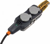 Fiche et prolongateur : Bloc 4 prises Powerblock IP 54