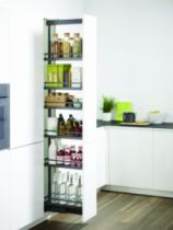 Agencement de cuisine : Kit cadre gris anthracite pour caisson 300 et 400 mm