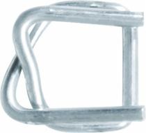 Emballage : Boucle acier galva pour feuillard textile
