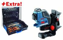 Laser de chantier : Laser triple GLL 3-80 P Professional + coffret outils Gedore