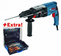 Perforateur SDS + : GBH 2-28 F - 3.2 Joules + coffret outils Gedore