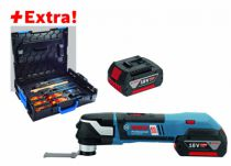 Couteau : Sans fil GOP 18V-28 - StarlockPlus + 2 batteries et coffret outils Gedore