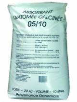 Essuyage et absorbant : Terre diatomée calcinée 5/10