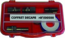 Aérogommeuse : Coffret de maintenance pour aérogommeuse série Decap