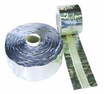 Connectique soudure et consommables : Bande inertage aluminium avec bande fibre de verre - FIBACK TAPE