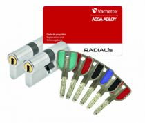 PAIRE CYL.RADIALIS 32,5X32,5 3 CLES
