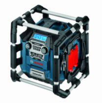 Batterie - chargeur - lampe électro-portatif : Radio de chantier GML 20