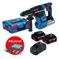Marteau perforateur sans fil : GBH 18V-26 + 68 accessoires + i-BOXX + i-Rack