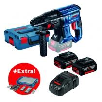 Marteau perforateur sans fil : GBH 18V-20 + 68 accessoires + i-BOXX + i-Rack