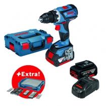 Perceuse-visseuse sans fil : GSR 18 V-60C + 68 accessoires + i-BOXX + i-Rack