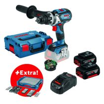 Perceuse-visseuse sans fil : GSB 18V-85C + 68 accessoires + i-BOXX + i-Rack