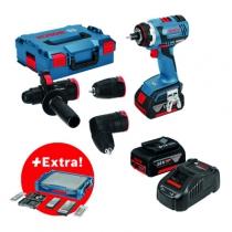 Perceuse-visseuse sans fil : GSR 18 V-EC FC2 + 68 accessoires + i-BOXX + i-Rack