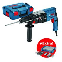 Perforateur SDS + : GBH 2-28 F - 3.2 Joules + 68 accessoires + i-BOXX + i-Rack