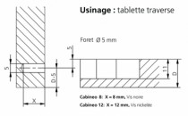 CABINEO FORET 15MM