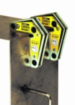 Connectique soudure et consommables : Paire équerres magnétiques - Corner Magnets