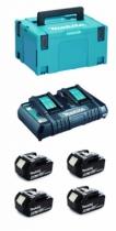 Pack machines jardin sans fil : Pack débroussailleuse + tondeuse + souffleur haut débit + tronçonneuse - 36 V