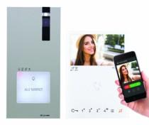 Portier vidéo Wi-Fi : Portier vidéo Quadra - Mini mains libres Wi-Fi