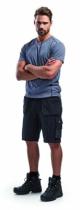 Vêtement de travail : Short artisan multipoches avec ceinture