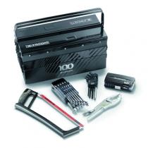 Composition d'outillage : Composition boîte à outils 5 cases + outillage édition limitée 100 FACOM