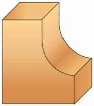 Fraise à bois : Fraise à gorge avec guide et roulement