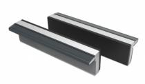 Etau : Jeu 2 mors aluminium et caoutchouc