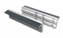 Etau : Jeu 2 mors prismatiques aluminium