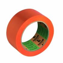 Ruban adhésif : Vynile plastifié 12/100 mm - orange - 6095F