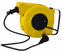 Enrouleur - prolongateur : Câble H07RN-F 3G1,5 - avec disjoncteur thermique à rappel automatique