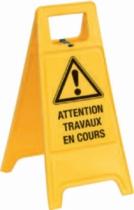 Signalisation : Chevalet de signalisation de danger