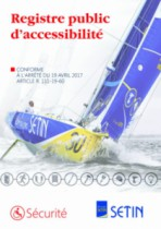 Registres ERP : Registre public d'accessibilité