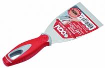 Couteau de peintre : Manche bi-matière riveté