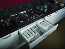 Accessoire pour tiroir antaro\intivo : Range-couverts - recoupable