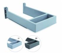 Agencement de cuisine : Sous siphon en plastique rectangulaire pour tiroir
