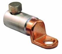 Accessoires fils et câbles : Cosses alu-cuivre à vis autocassante
