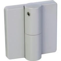 Accessoires de cloisons modulaires : Paumelle avec ressort