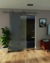 Coulissant porte intérieure verre : Visitop / 80 kg