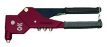 Pince à rivets - sertisseuse : Pince à main 360° + assortiment de rivets multi-serrage en coffret - BZ6