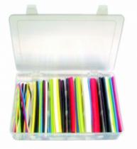 Accessoires fils et câbles : Coffrets d'assortiment de gaines thermorétractables PLF noir + couleurs
