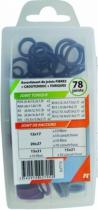 Joints : Assortiment joints fibre / caoutchouc / torique