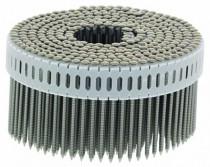 Clouterie : Pointe tête bombée crantée inox - pour Paslode CNP 65 1.S