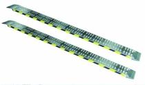 Rampes aluminum : Rampe aluminium sans rebords