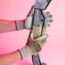 Gants contre les coupures : Gants Mastertech enduit PU renfort cuir