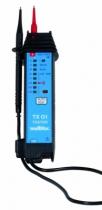 Testeur d'électricité : Testeur de tension AC/DC LEDs Cat III - TX 01