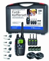 Appareil de communication : Pack 4 Talkies-walkie Midland G7 Pro + oreillettes plates